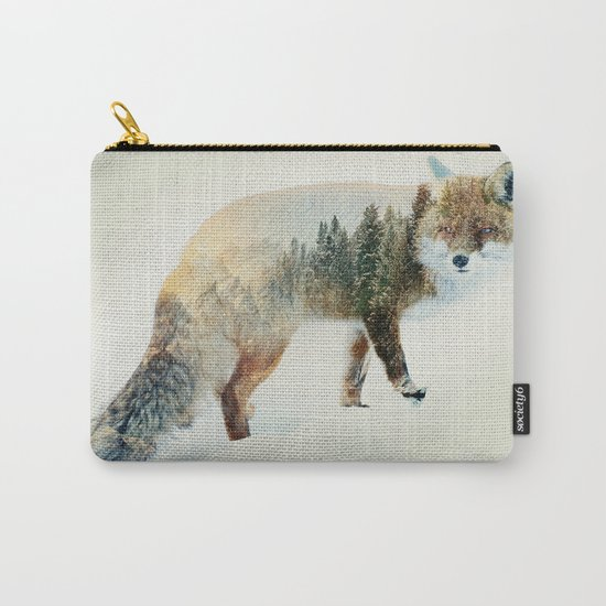 Winter Fox Carry-All Pouch