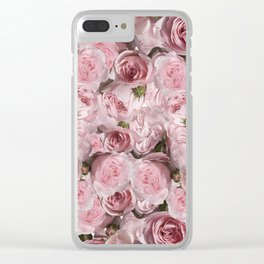 Carpet of flowers 6. roses Clear iPhone Case