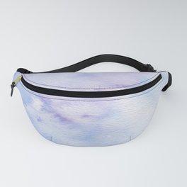 Mermaid Vibes - Purple Blue Ocean Splash Fanny Pack
