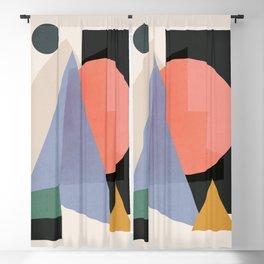 Modern Abstract Art 30 Blackout Curtain
