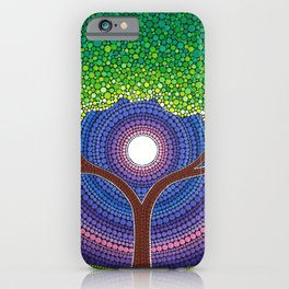 Happy Tree of Life iPhone Case