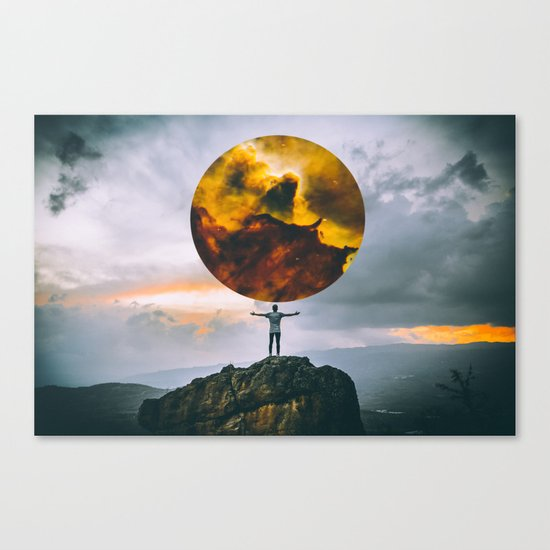 world of possibilities 0.1 Canvas Print