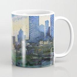 Melbourne - Southbank Skyline Coffee Mug