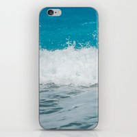 wave iPhone & iPod Skins featuring Wave by SensualPatterns