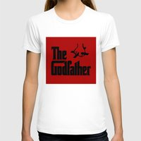 godfather T-shirts featuring The Godfather by SwanniePhotoArt
