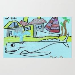 White Whale Village Rug