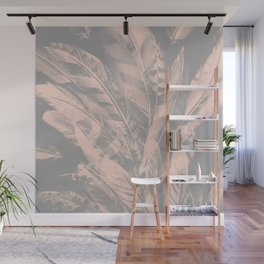 Cosmic Feathers Evening Sand Wall Mural