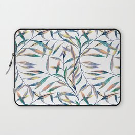 Bright sprigs on a white background Laptop Sleeve