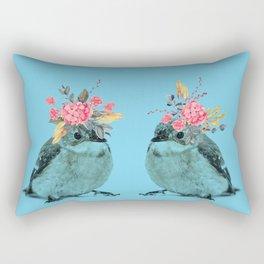 Sparrows Rectangular Pillow