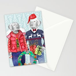 UGLY CHRISTMAS SWEATER WEIMS Stationery Cards