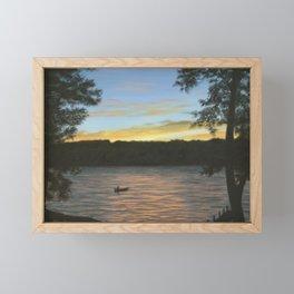 Evening at Keuka Lake NY Framed Mini Art Print