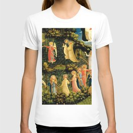 "Fra Angelico (Guido di Pietro) ""The Last Judgement, detail - The dance of the beatified"" T-shirt"