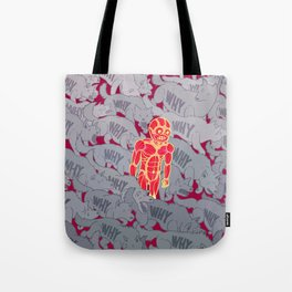 Why Wolves Tote Bag
