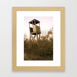 Barely Standing Framed Art Print