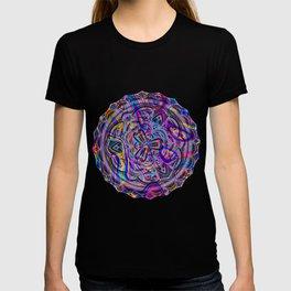 Neon melt T-shirt