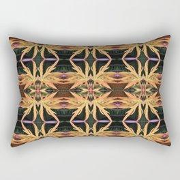 Leaf Study Pattern Rectangular Pillow