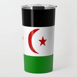 Flag of Western Sahara Travel Mug