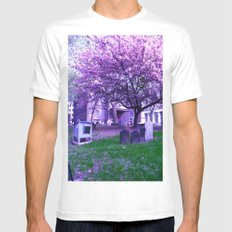 Remembrance MEDIUM Mens Fitted Tee White