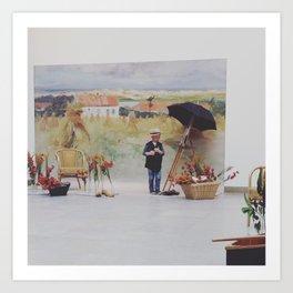 Salle plein air, Caen, France Art Print