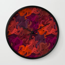 Octopattern Wall Clock