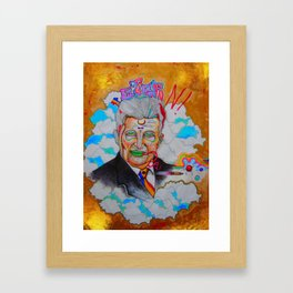 Ceausescu- The Dicktator Framed Art Print
