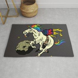 Space Unicorn Rug