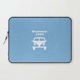 Summer 1969 -  lt. blue Laptop Sleeve