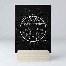 Shaman Drum Mini Art Print