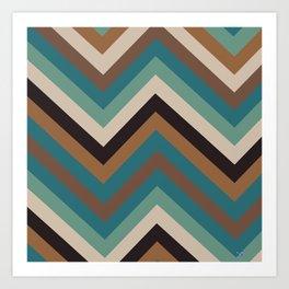 Geometric - 2 Art Print