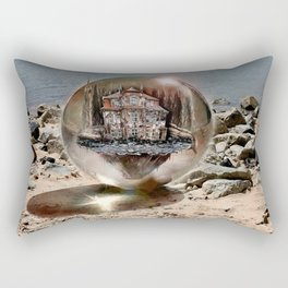 Die Strandkugel ! Rectangular Pillow