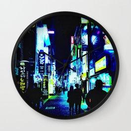 Busan Nights Wall Clock