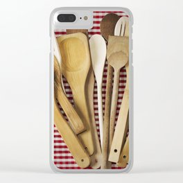 Kitchen utensil Clear iPhone Case