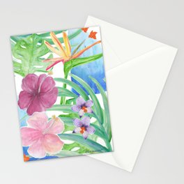 Malia's Tropical Print Stationery Cards