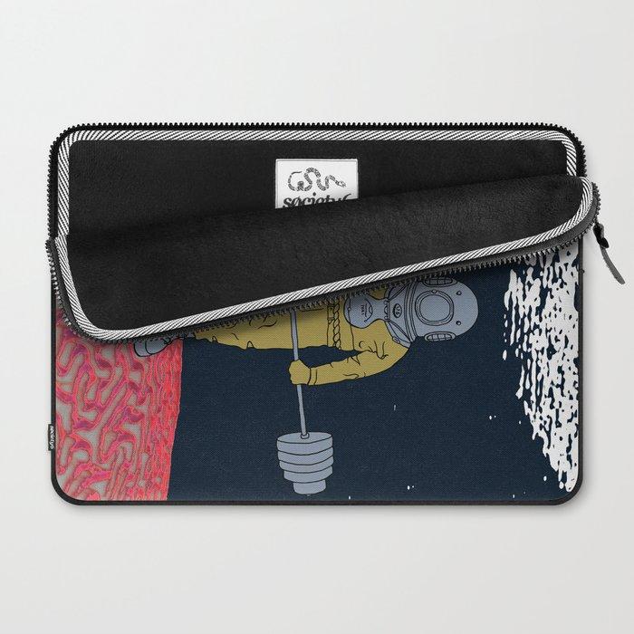 AQUA BURN Laptop Sleeve