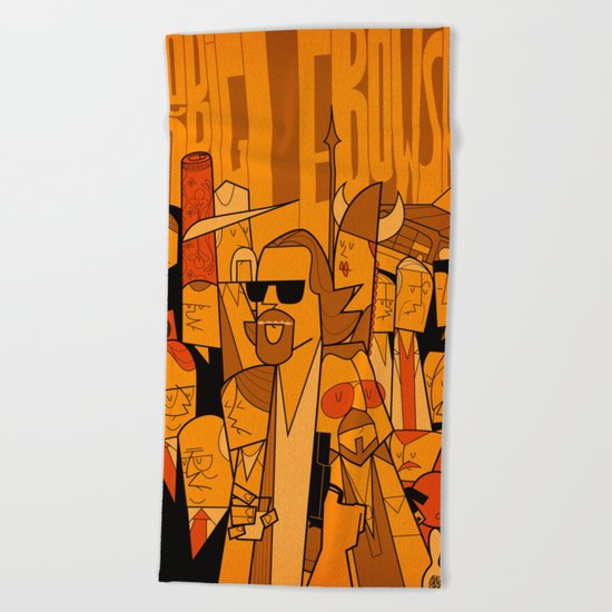 The Big Lebowski (variant aspect ratio) Beach Towel