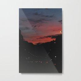 Red night Metal Print