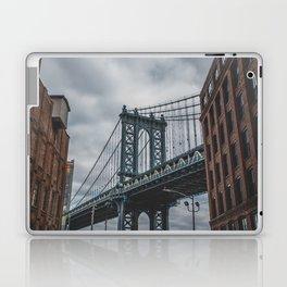 Manhattan Bridge, New York City Laptop & iPad Skin
