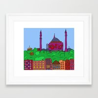 istanbul Framed Art Prints featuring Istanbul by andy_panda_