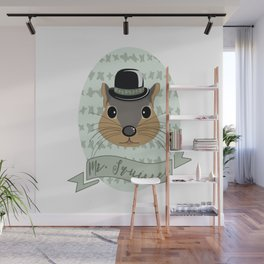 Mr. Squirrel Wall Mural