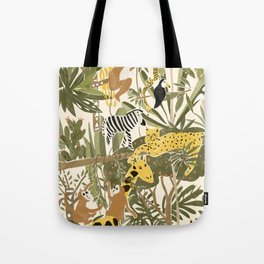 Th Jungle Life Tote Bag
