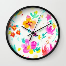 A Little Tropical Wall Clock