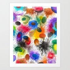 Caos Sincronizado Art Print