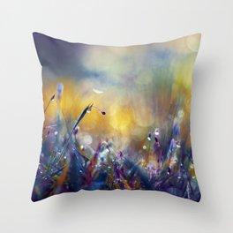 Moss Island Throw Pillow