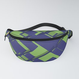 3D Abstract Futuristic Background III Fanny Pack