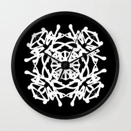 JAPANESE KANJI ART (KAKUMEI=REVOLUTION) by AKIRA Wall Clock