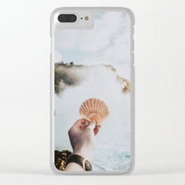 seashell ii Clear iPhone Case
