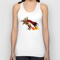 smaug Tank Tops featuring Smaug by MarieJacquelyn