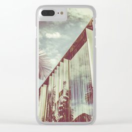 Beverly Hills - Palm Reflections III Clear iPhone Case