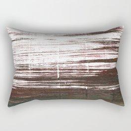 Bistre abstract watercolor Rectangular Pillow