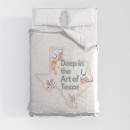 Deep in the Art of Texas Comforters